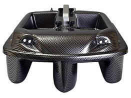 Carp Madness Phantom Futterboot Bausatz 2,4Ghz Carbon Bait Boat mit TF500 Echolot