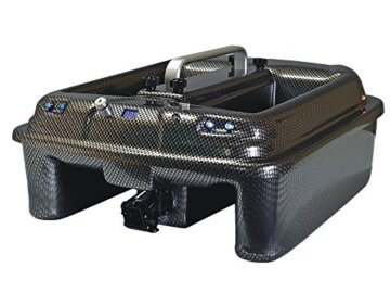 Carp Madness Phantom Futterboot Carbon mit Echolot RF15