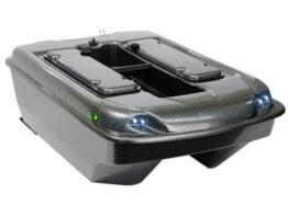 Carp Madness XXL Bausatz Futterboot 2,4 Ghz Carbon mit Echolot RF15e