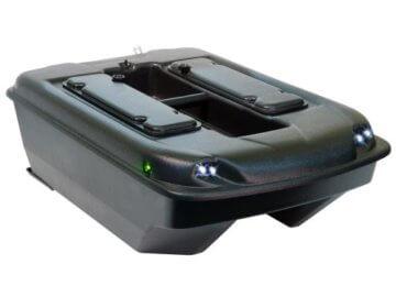 Carp Madness XXL Bausatz Futterboot 2,4 Schwarz mit Echolot RF15e